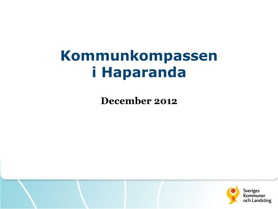 Kommunkompassen i Haparanda December 2012