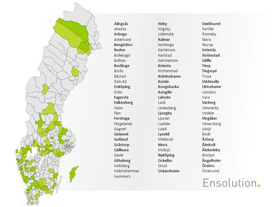 Personlig assistans, LASS, egen regi • Tabellen visar en jämförelse av nettotimkostnad (efter ersättning för FK) för utfall 2011 • Örebro placerar sig i mellanintervallet • Kommunerna är indelade i tre olika nivåer med lika många kommuner i varje nivå.