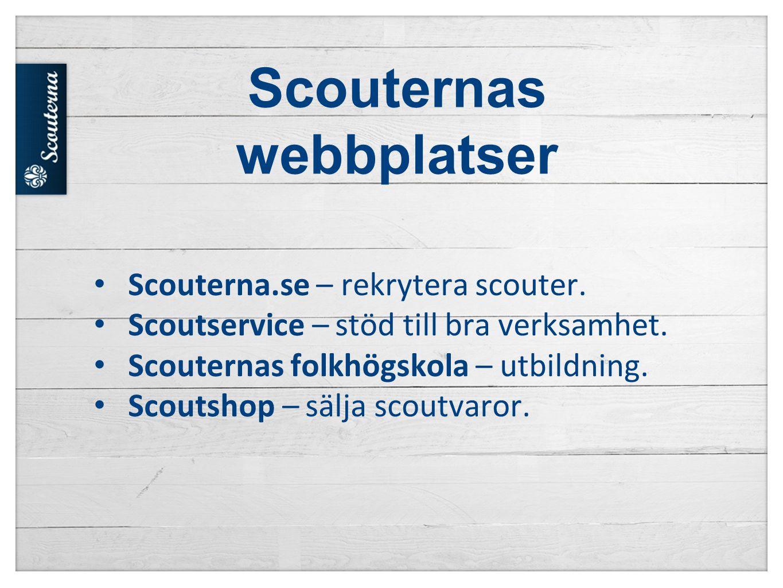 Scouternas webbplatser • Scouterna.se – rekrytera scouter.