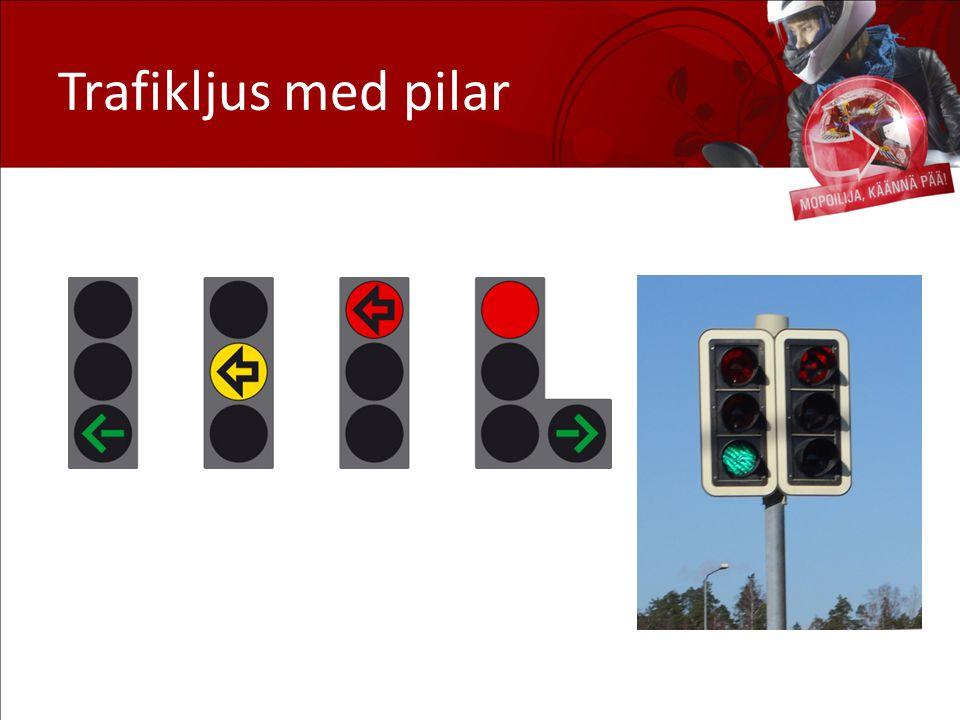 Trafikljus med pilar
