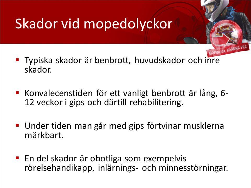 Tilläggsinformation om mopedkörning: www.käännäpää.fi (på finska) www.trafikskyddet.fi www.trafi.fi/mopo Kör tryggt i trafiken!