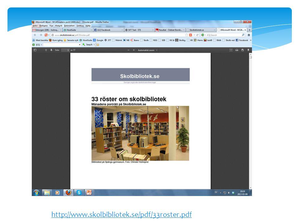 http://www.skolbibliotek.se/pdf/33roster.pdf
