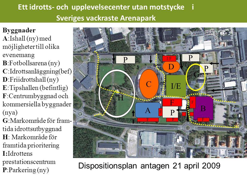 Händelser under åren • Vision - Detaljplan – Dispositionsplan • Byggnation – Drift - Finansiering • ?????.