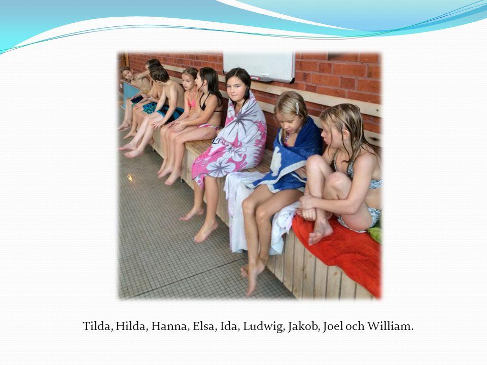 Nästa termin blir det mer simskola.När simträningen var färdig blev det en överraskning.