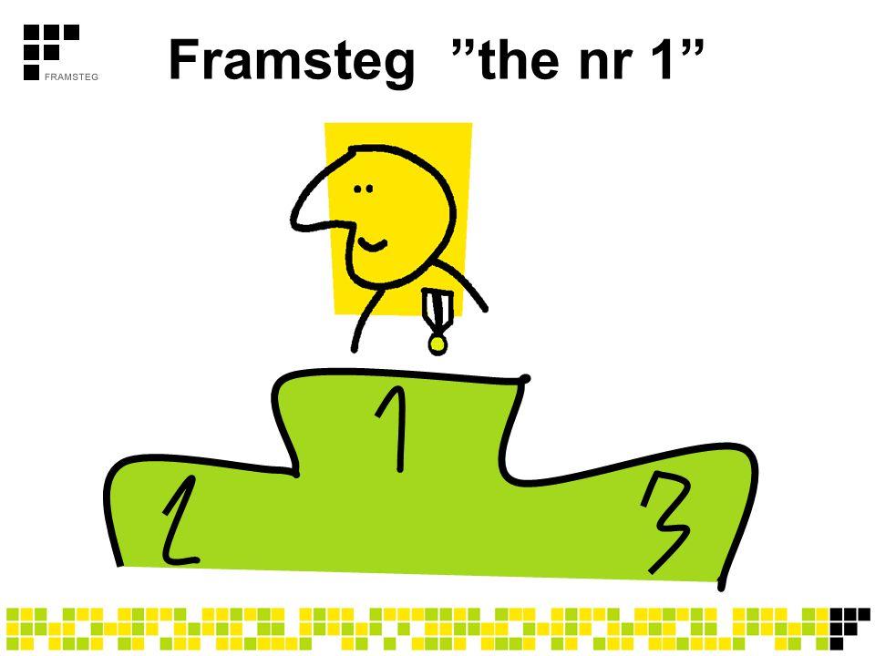 """Framsteg """"the nr 1"""""""