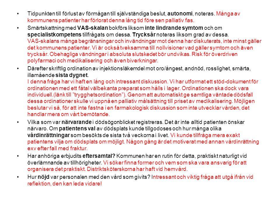 Kvalitetsindikator Vas Vårdcentralen