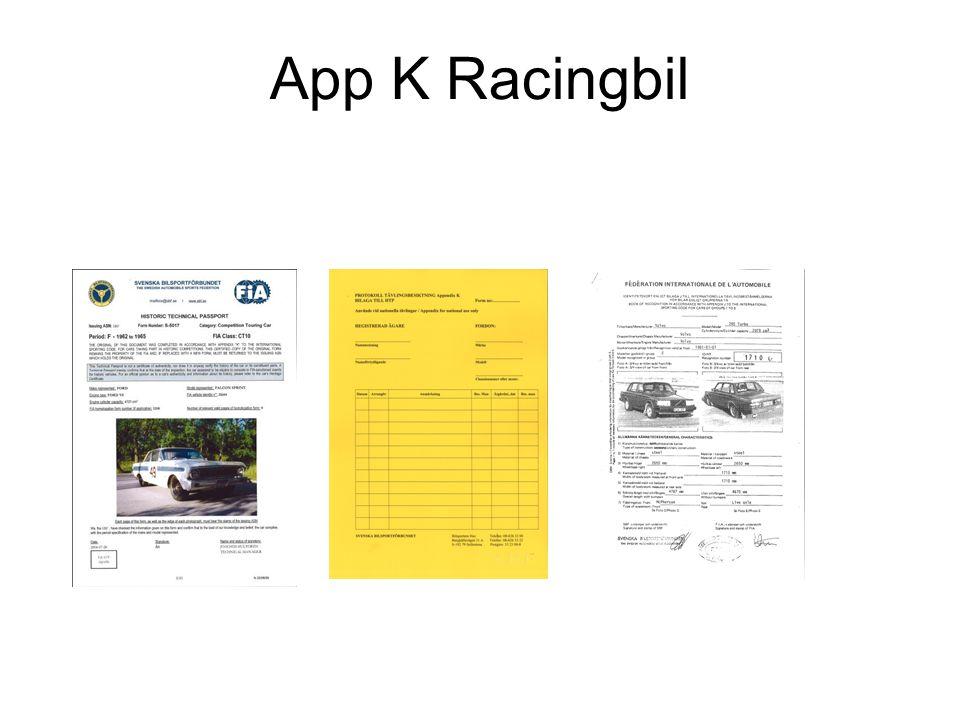 App K Racingbil