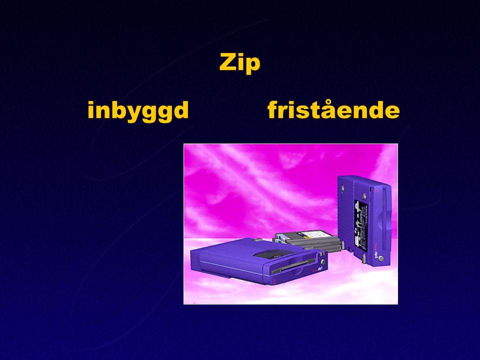 Zip inbyggdfristående