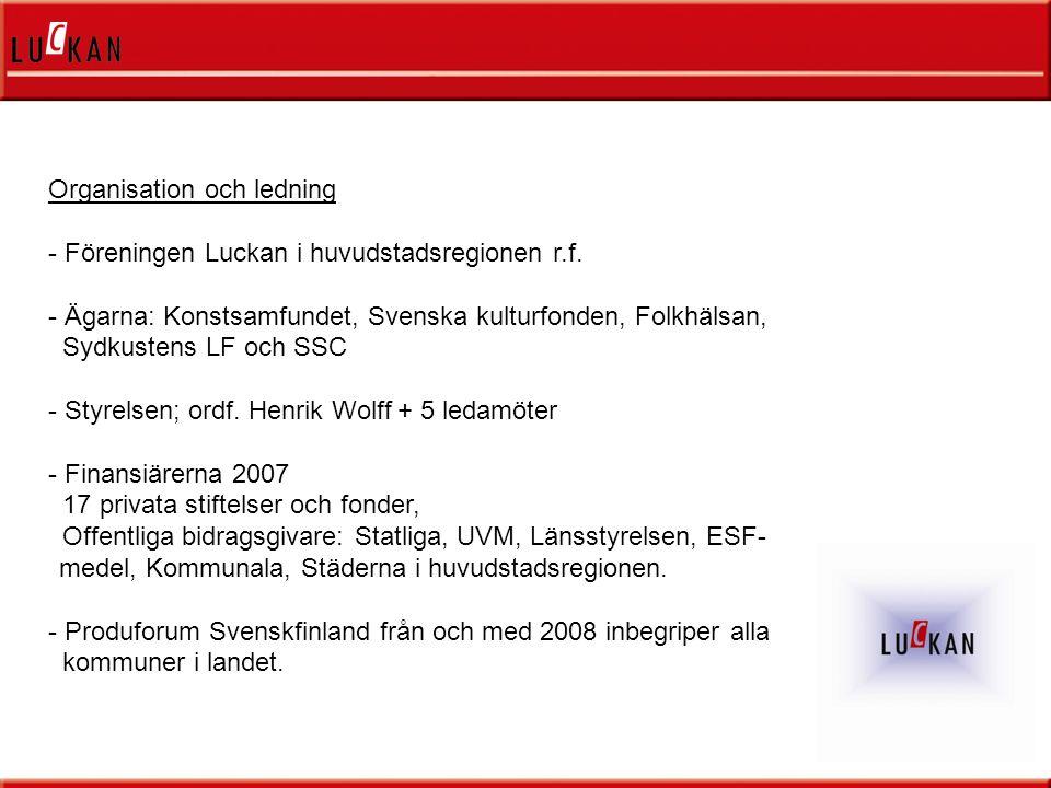- Samarbete (partners) - Synergier - Projekt - Ambassadörer (låg tröskel)