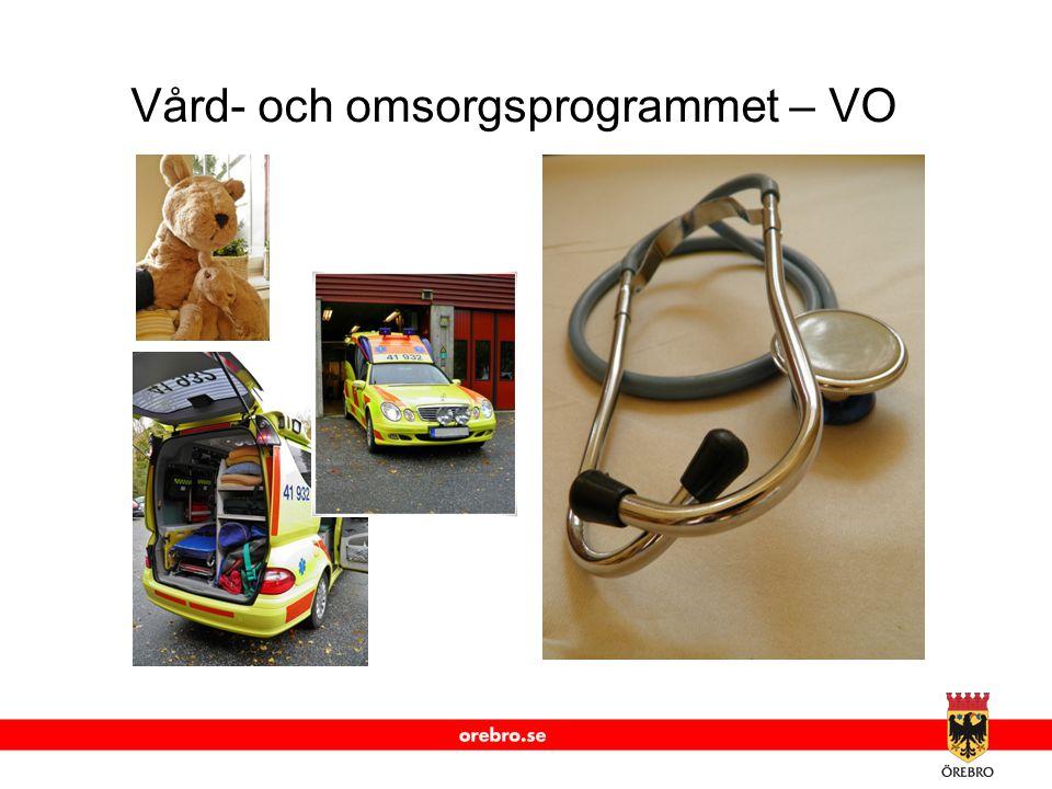 www.orebro.se Vård- och omsorgsprogrammet – VO