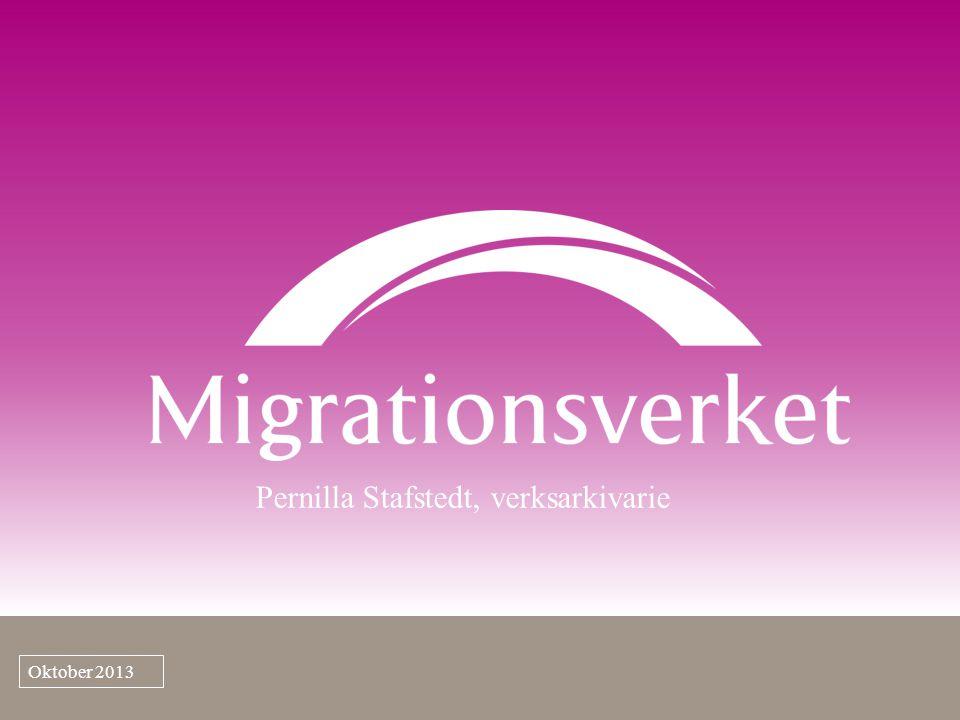 Ett Sverige som med öppenhet tar tillvara den globala migrationens möjligheter Migrationsverkets vision