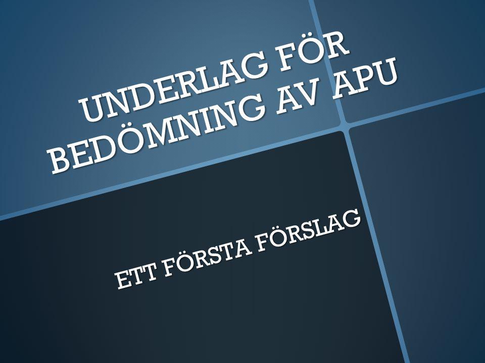 Omdöme för: APU/APL period: Företag/Arbetsplats: Handledare 1: Handledare 2: Elevens Namn Höstterminen -11 ByggareBob Kranis
