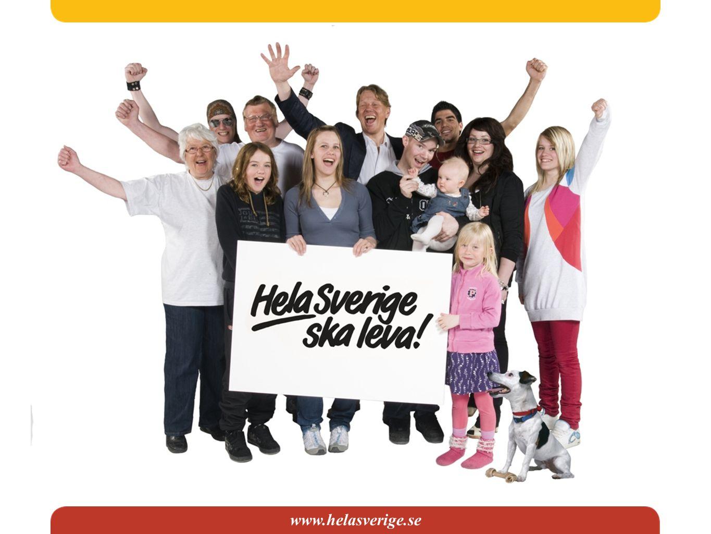 Riksorganisationen Hela Sverige ska leva 5 000 utvecklingsgrupper, 100 kommunbygderåd, 24 länsbygderåd och 43 medlemsorganisationer.
