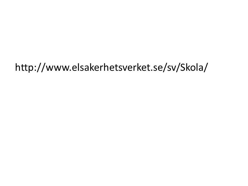 http://www.elsakerhetsverket.se/sv/Skola/