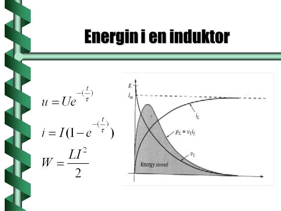 Energin i en induktor