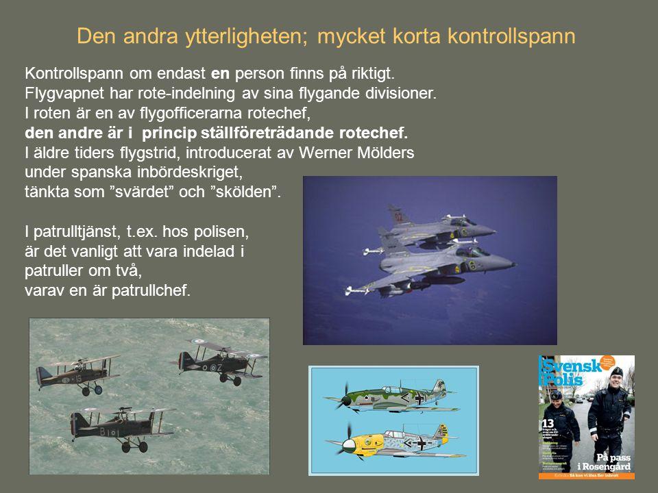 Kontrollspann om endast en person finns på riktigt. Flygvapnet har rote-indelning av sina flygande divisioner. I roten är en av flygofficerarna rotech