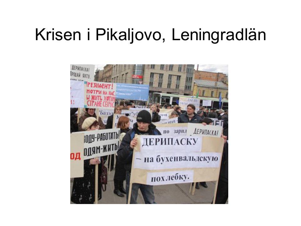 Krisen i Pikaljovo, Leningradlän