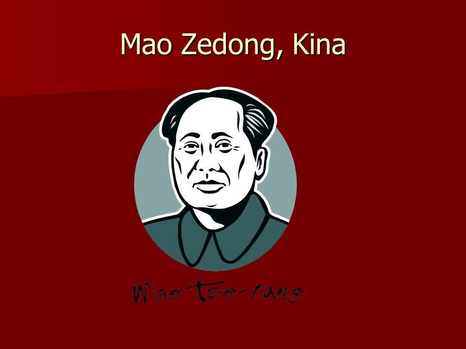 Mao Zedong, Kina