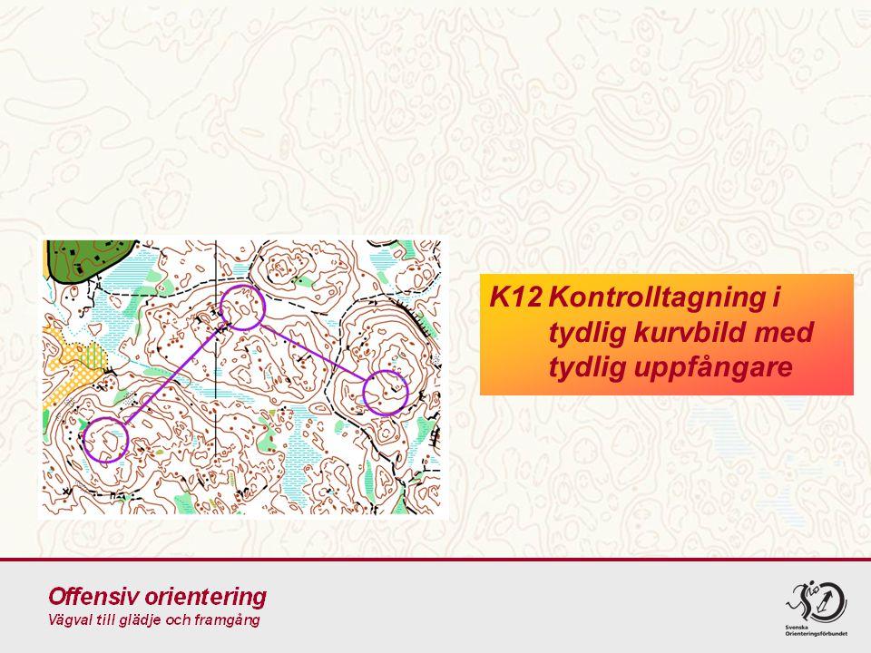 K12Kontrolltagning i tydlig kurvbild med tydlig uppfångare