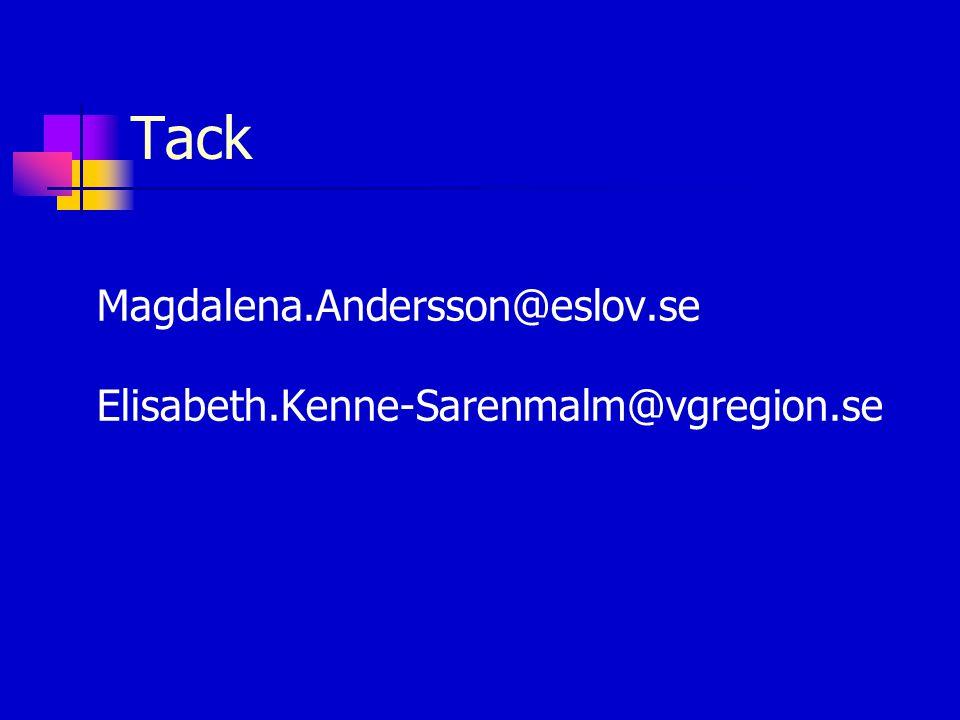 Tack Magdalena.Andersson@eslov.se Elisabeth.Kenne-Sarenmalm@vgregion.se