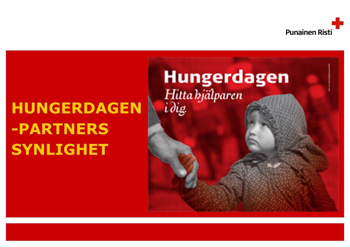 HUNGERDAGEN -PARTNERS SYNLIGHET