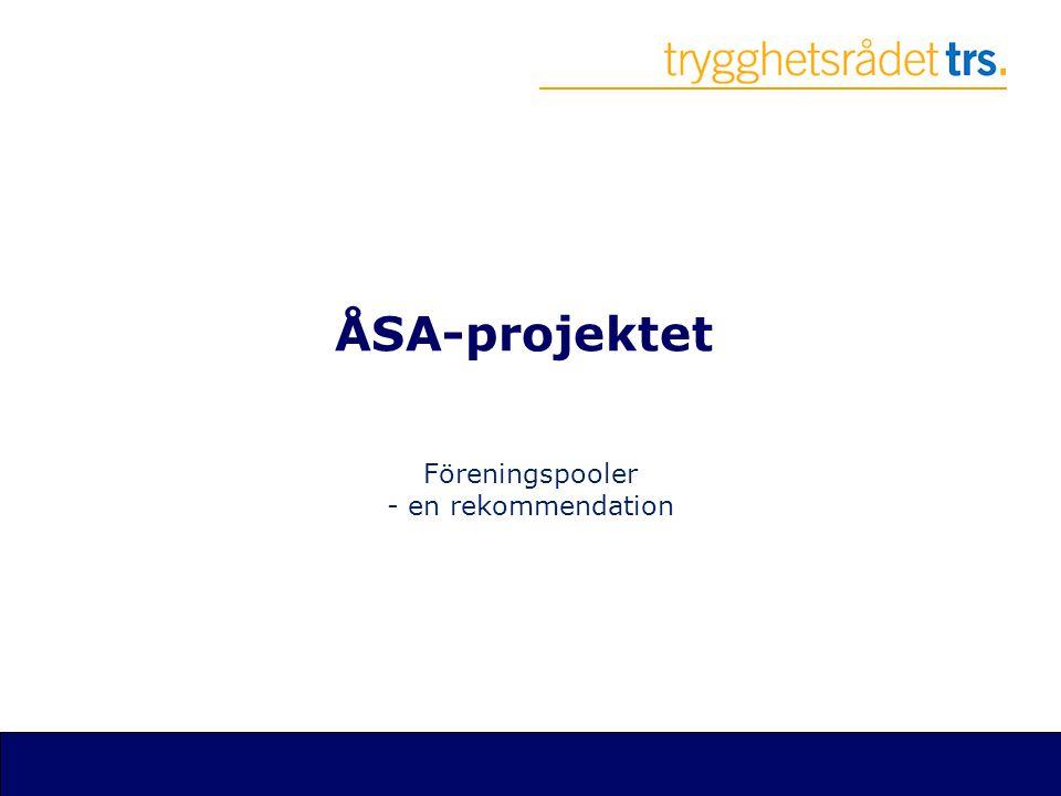 ÅSA-projektet Föreningspooler - en rekommendation