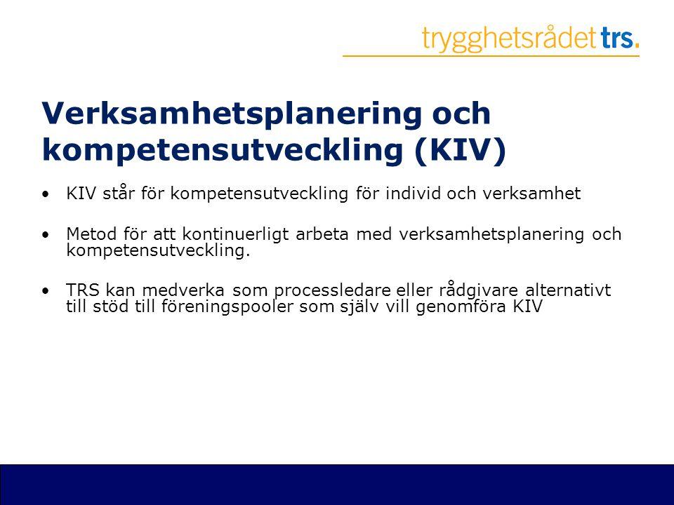 Verksamhetsplanering och kompetensutveckling (KIV) •KIV står för kompetensutveckling för individ och verksamhet •Metod för att kontinuerligt arbeta me