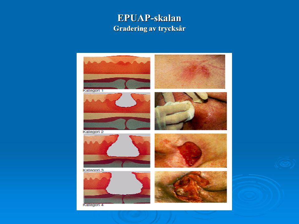 EPUAP-skalan Gradering av trycksår