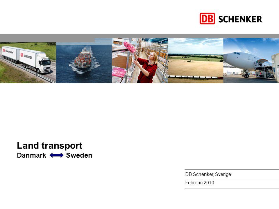 Vårt kunderbjudande – Landtransporter DB SCHENKERparcel Vårt samlade utbud tjänster för paket på max 30 kg per kolli och 99 kilo per sändning inom Europa.