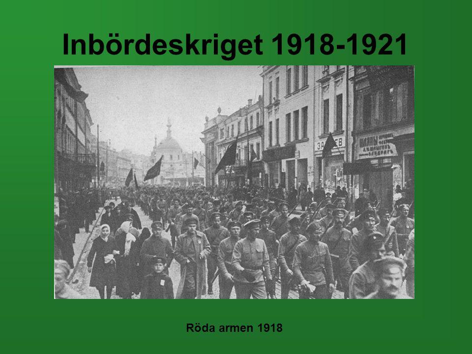 Inbördeskriget 1918-1921 Röda armen 1918