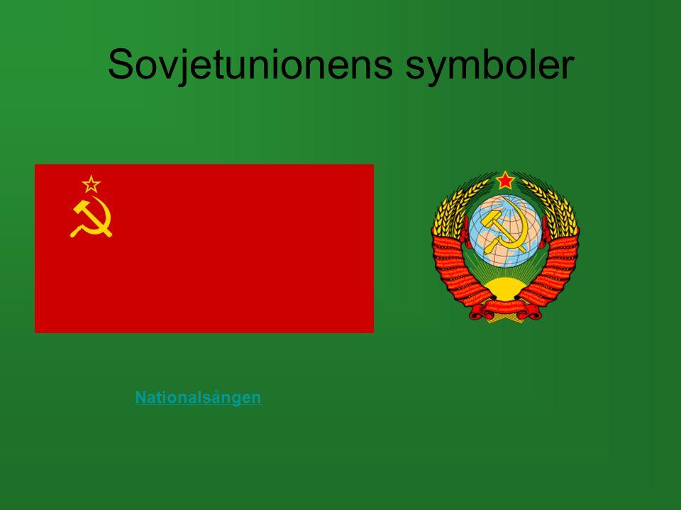 Sovjetunionens symboler Nationalsången