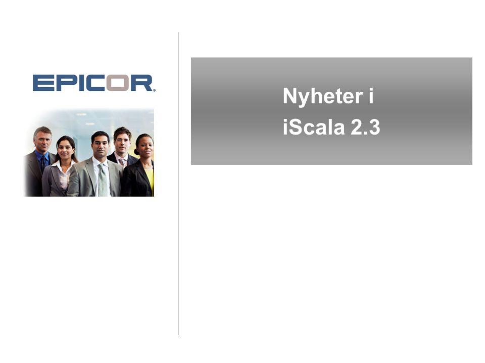 Nyheter i iScala 2.3