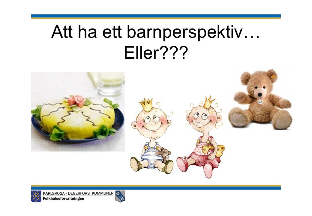 Sveriges fjärde rapport till barnrättskommittén Rekommendationer/kommentarer från barnrättskommitén: •Kommittén (K) orolig över att barn inte kan påverka sin tillvaro.