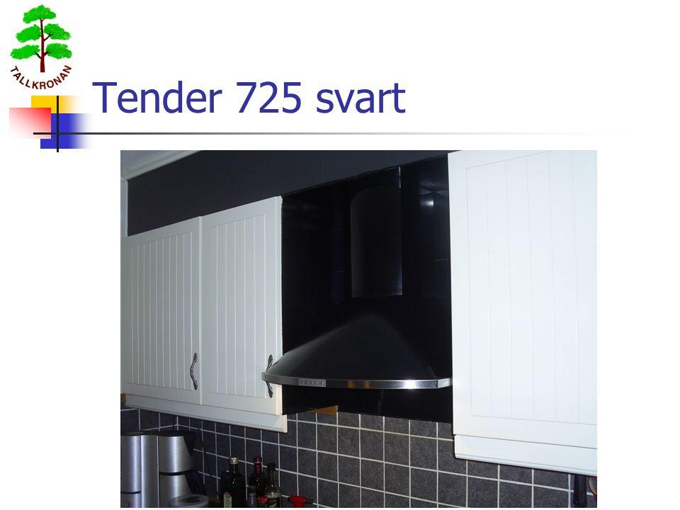 Tender 725 svart