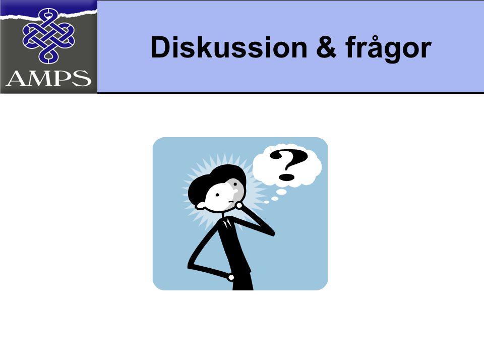 Diskussion & frågor