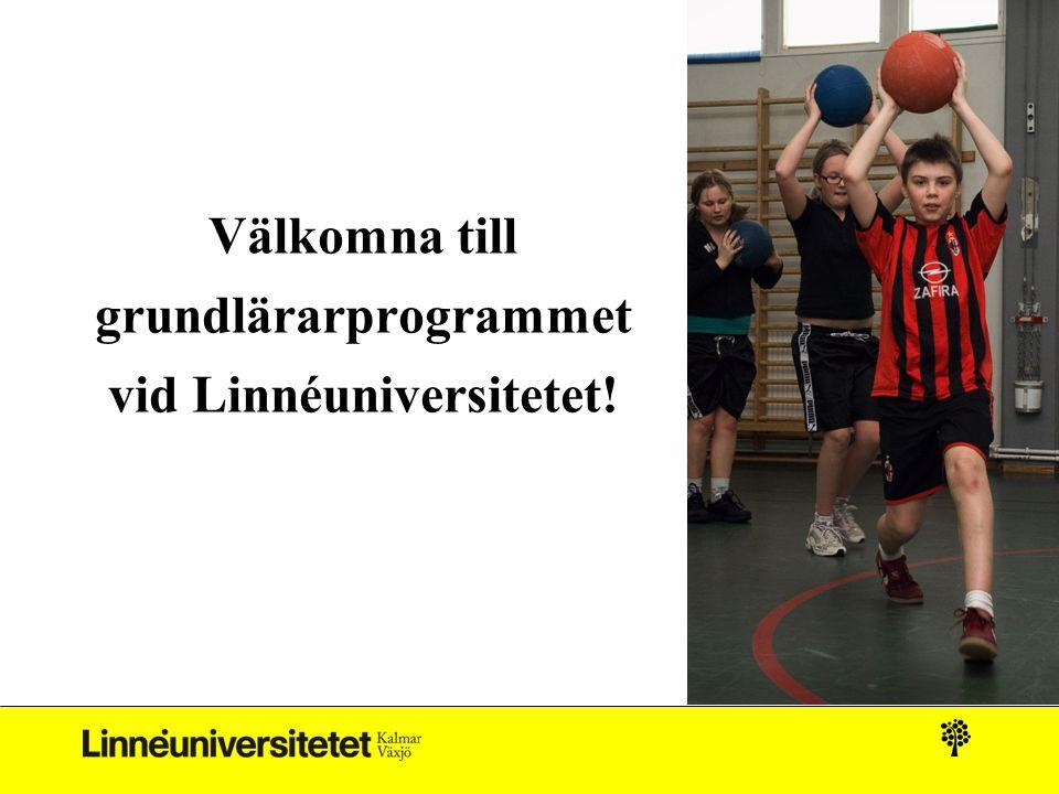 Välkomna till grundlärarprogrammet vid Linnéuniversitetet!