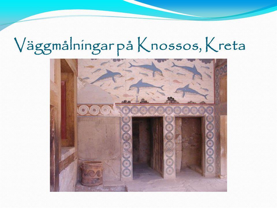 Väggmålningar på Knossos, Kreta