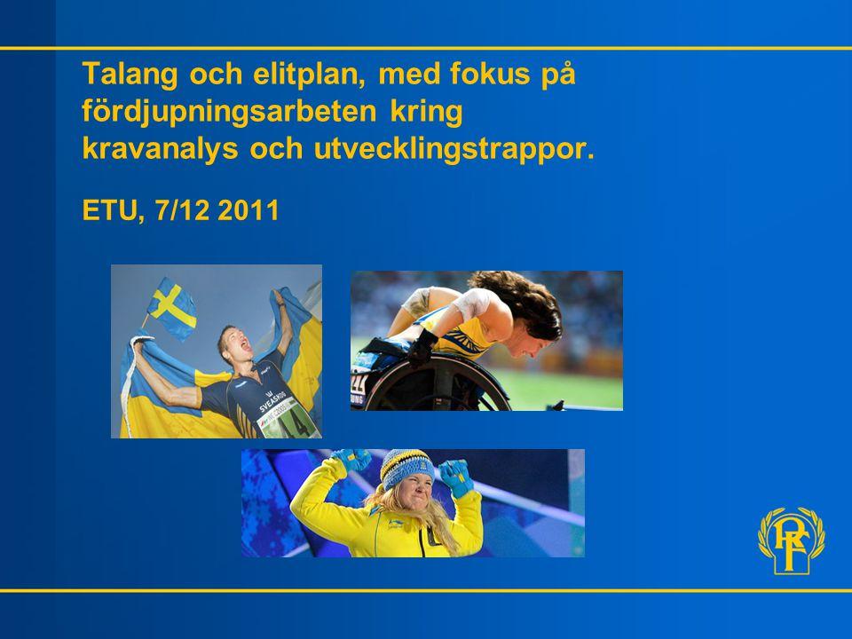 Vilka är de idrottspsykologiska kraven i din idrott?
