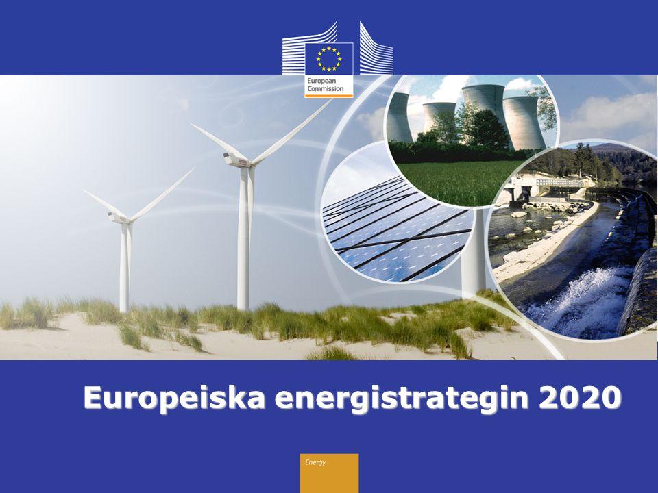 Energy Europeiska energistrategin 2020