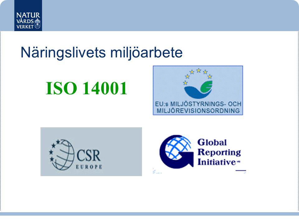 Näringslivets miljöarbete ISO 14001