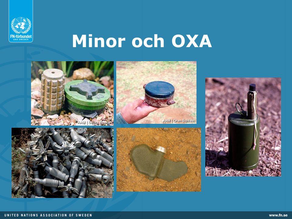 Minor och OXA