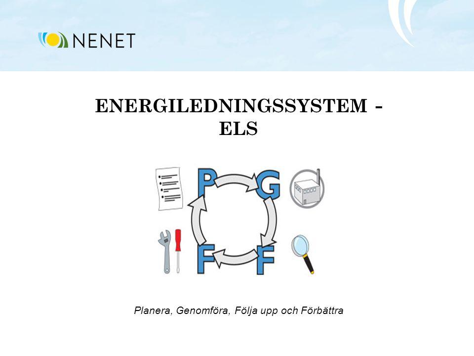 ENERGILEDNINGSSYSTEM - ELS Planera, Genomföra, Följa upp och Förbättra