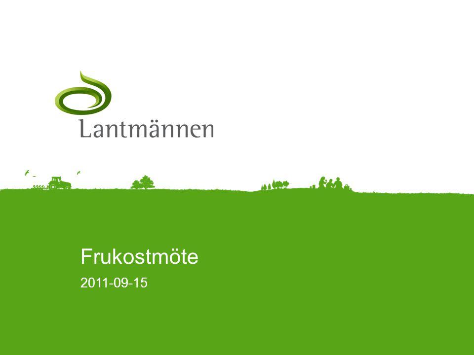 Landscape Agenda • Tomas • Lantmännen • Planeringsprocessen • Styrmodell Lantmännen •Vad styr vem som får investera eller inte.
