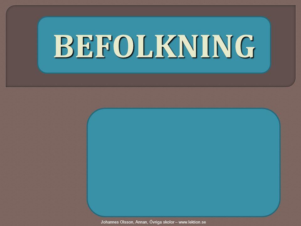 B EFOLKNING