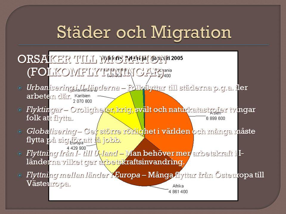 RISKER MED MIGRATIONEN  De flesta invandrargrupperna har en svagare ställning i de länder som de flyttar till än de som redan bor där.