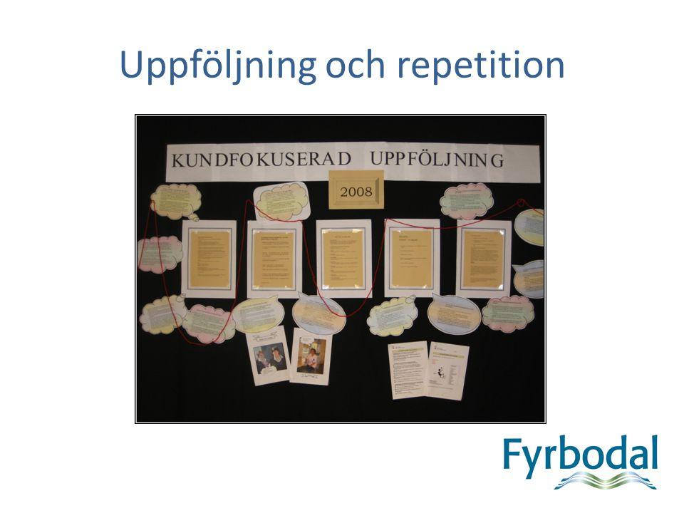Uppföljning och repetition 2.