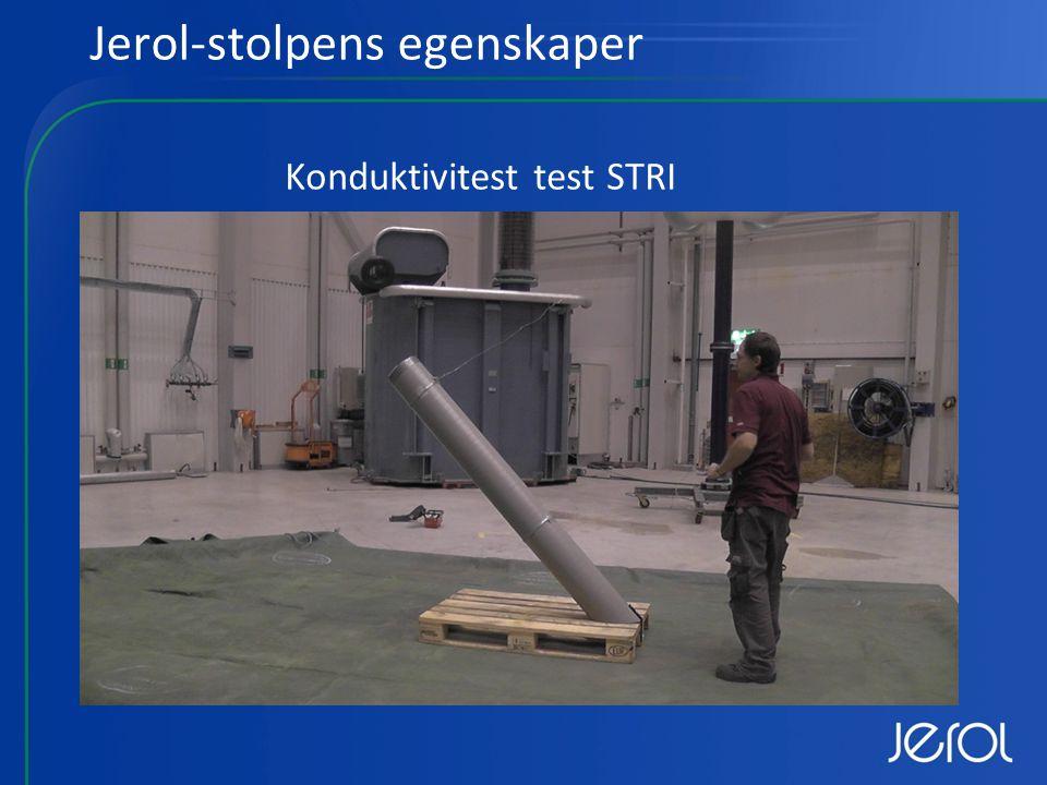 Jerol-stolpens egenskaper Konduktivitest test STRI