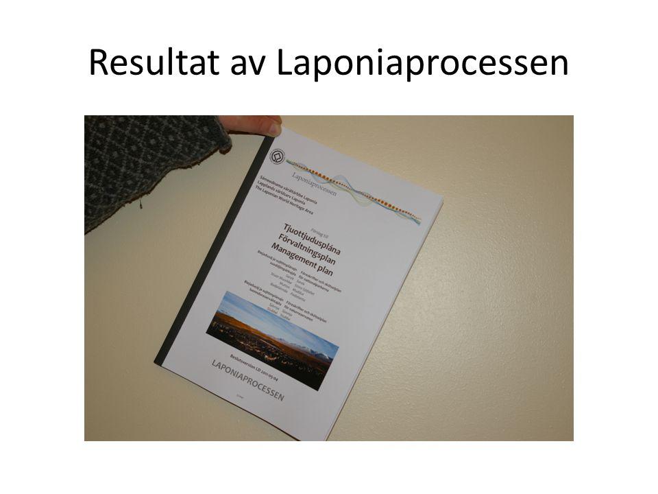 Resultat av Laponiaprocessen