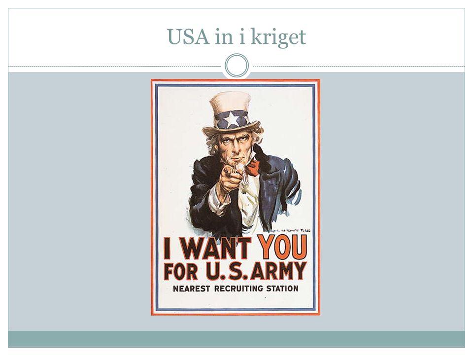 USA in i kriget