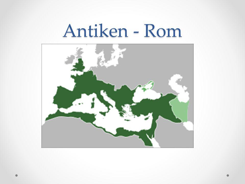 • Utgick från staden Rom.Uppstod ca 753 f.Kr, självständiga ca 509 f.Kr.